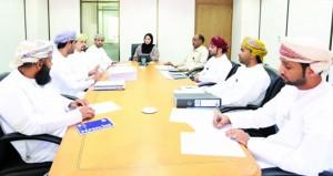 مناقشة إجراءات التحول الإلكتروني للمديرية العامة للمعايير المهنية بالقوى العاملة