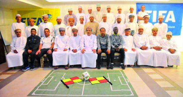 ختام ناجح لفعاليات لدورة تطوير الحكام المتقدمة في كرة القدم