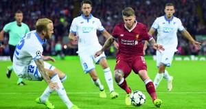 ليفربول يتفوق على هوفنهايم ويعود إلى نادي الكبار في دوري أبطال أوروبا