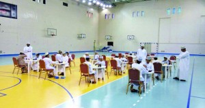 ختام تصفيات بطولة عمان للشطرنج بنـزوى