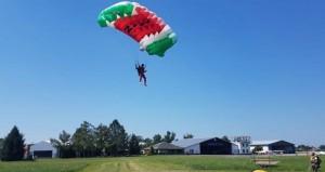 الفريق الوطني للقفز الحر يبدأ مشاركته في بطولة بلونو العالمية بجمهورية إيطاليا