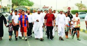 فريق الشباب ينقل ينظم مجموعة من الفعاليات الرياضية