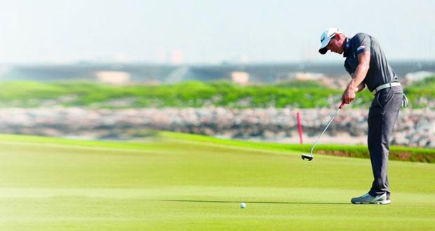 اليوم .. نجوم العالم يبدأون مشاركتهم في بطولة عمان لمحترفي الجولف