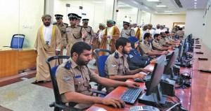 شرطة عمان السلطانية تحتفل بافتتاح المبنى الجديد لمركز شرطة الخابورة ومبنى خدمات الشرطة