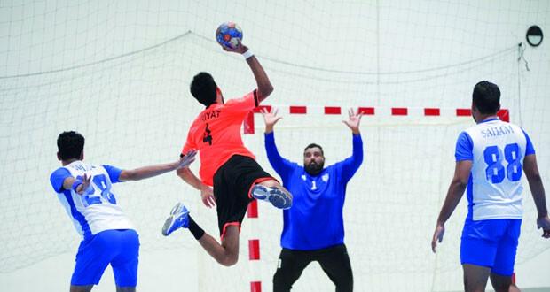 نادي الشباب يتصدر الترتيب العام لدوري الدرجة الثانية لكرة اليد قبل جولة الحسم الأخيرة