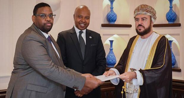 رسالة لجلالة السلطان من رئيس الصومال