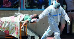 الحالات اليومية بالهند فـي مستوى قياسي والمستشفيات تئن من نقص الأكسجين