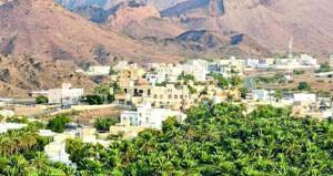 بلدة «كهنات» بعبري.. طبيعة خلابة ومنجزات تنموية متنوعة