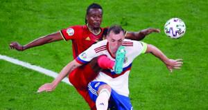 في كأس أوروبا: خسارة الدنمارك أمام فنلندا وثلاثية لبلجيكا في مرمى روسيا