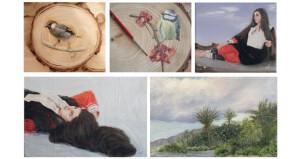 مريم التوكلي: موهبتي كانت كفيلة بنقلي إلى عوالم الفن التشكيلي