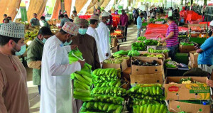 تدفق أصناف عديدة من المنتجات المحلية للسوق المركزي للخضروات والفواكه