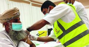 بدء الحزمة الثانية لحملة التطعيم باللقاحات فـي عدد من ولايات السلطنة