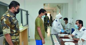 البحرية السلطانية العمانية تستكمل إجراءات التجنيد